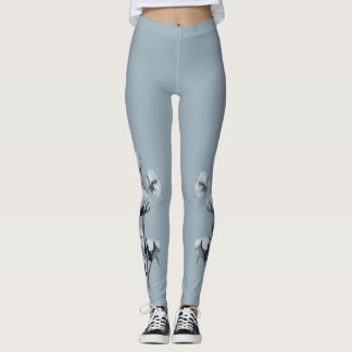 Cotton & Me - cotton branches on your legs Leggings