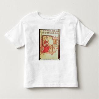 Cotton Nero D VIII fol.7 Queen Matilda holding a c Toddler T-Shirt