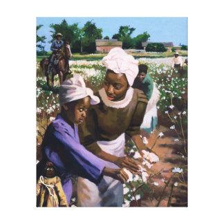 Cotton Pickers 2003 Canvas Print
