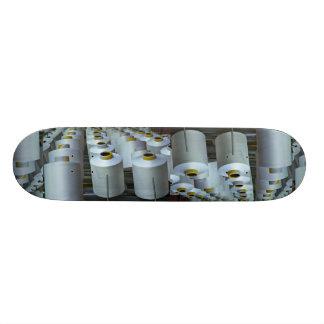Cotton reels, texture skateboard decks