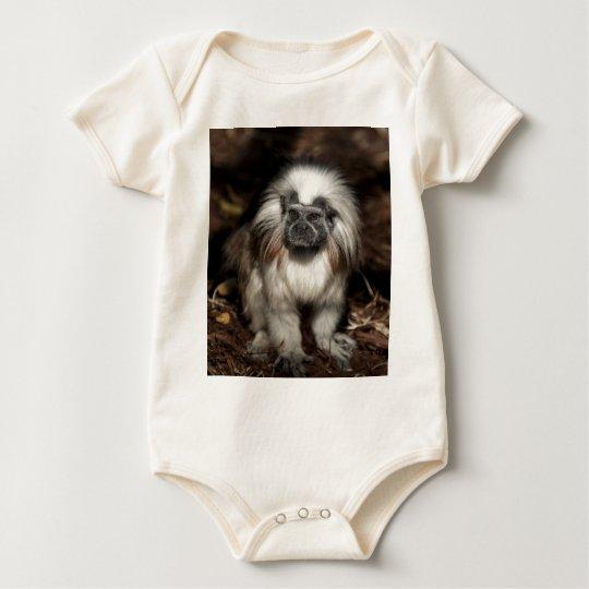 Cotton-top Tamarin Baby Bodysuit