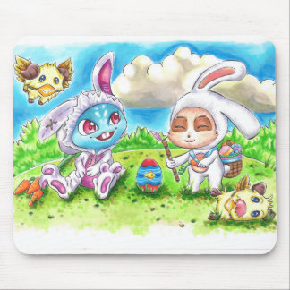 Cottontail Fizz & Teemo - Mousepad
