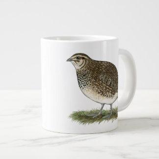 Coturnix Quail Hen Extra Large Mug