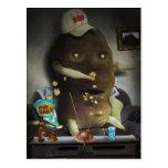 Couch Potato Postcard