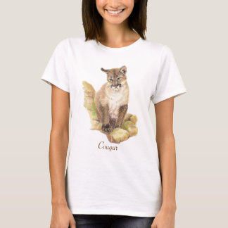 Cougar Animal Totem T-Shirt