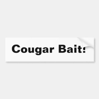 Cougar Bait Bumper Sticker