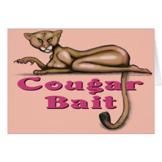 Cougar Bait Card
