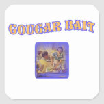 Cougar Bait Square Sticker