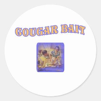 Cougar Bait Stickers