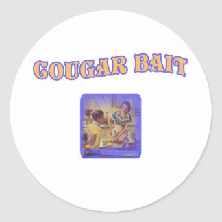 Cougar Bait Stickers
