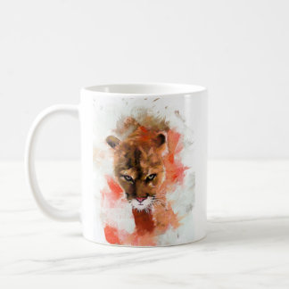 Cougar Basic White Mug