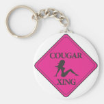 Cougar Crossing Pink Key Chains