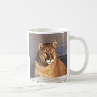 Cougar Face Coffee Mug