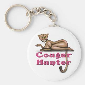 Cougar Hunter Key Chain