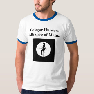 Cougar Hunter (not that kind of cougar) T-Shirt