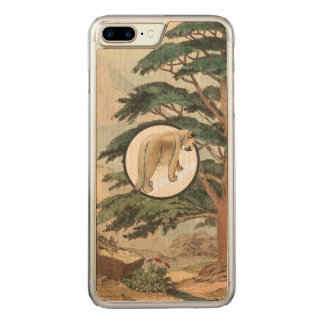 Cougar In Natural Habitat Illustration Carved iPhone 8 Plus/7 Plus Case