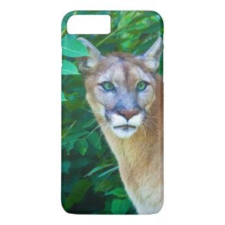 Cougar in the Jungle iPhone 7 Plus Case