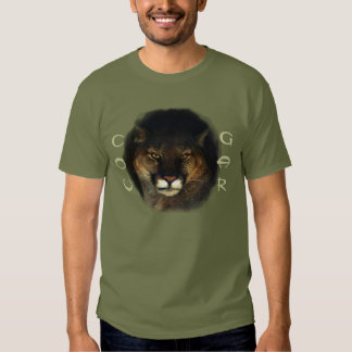 Cougar Mountain Lion Big Cat Painting 3 T Shirts