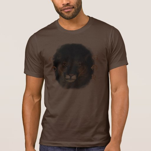 Cougar Mountain Lion Big Cat Painting 3 T Shirt