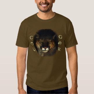 Cougar Mountain Lion Big Cat Painting 3 Tshirts