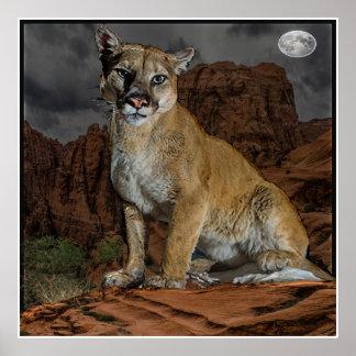 cougar mountain poster
