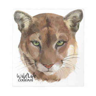"""Cougar"" Notepads"