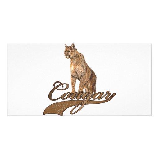 Cougar Custom Photo Card