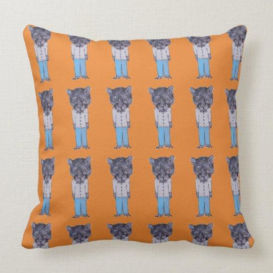 Cougar pillow