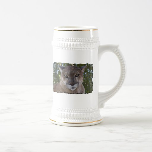 Cougar Pounce Beer Stein Coffee Mugs
