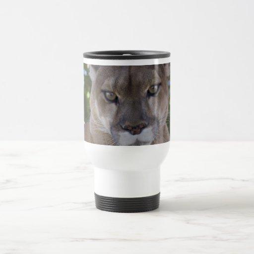 Cougar Pounce Plastic Travel Mug