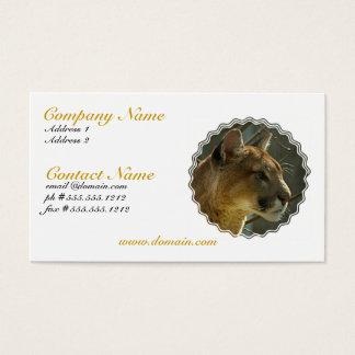 Cougar Puma Business Card