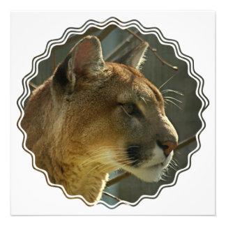 Cougar Puma Invitation