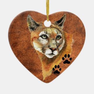 Cougar, Puma, Mountain Lion  Christmas Ornament