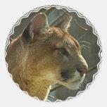 Cougar Puma Stickers