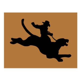 Cougar Rodeo Postcard