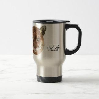 """Cougar"" Travel Mug"