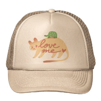Cougar & Turtle LoveMe hat