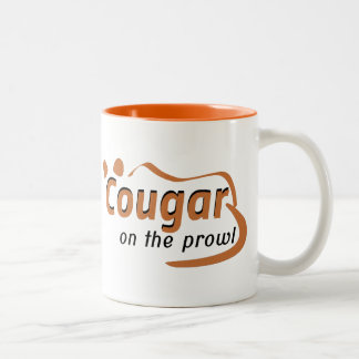Cougar Two-Tone Coffee Mug