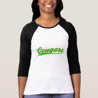 Cougars Faux Baseball Jersey T-Shirt