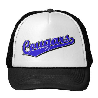 Cougars in Blue Cap
