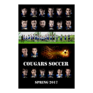 Cougars team poster