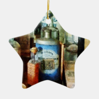 Cough Remedies And Tooth Powder Ceramic Star Decoration