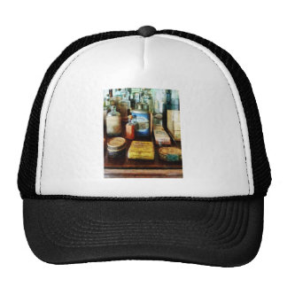 Cough Remedies and Tooth Powder Mesh Hat