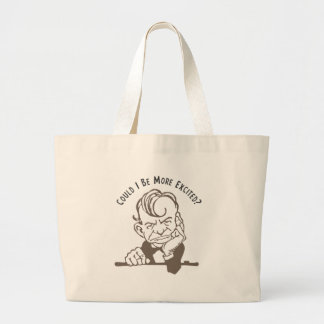 Could I be More Excited? Canvas Bag