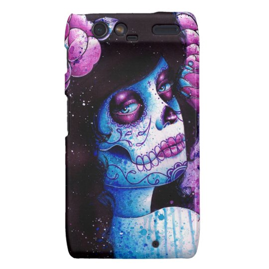 Could It Really Be Sugar Skull Girl Motorola Droid RAZR Case