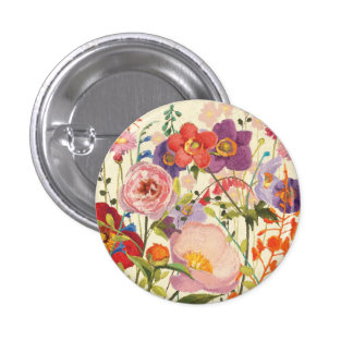 Couleur Printemps 3 Cm Round Badge