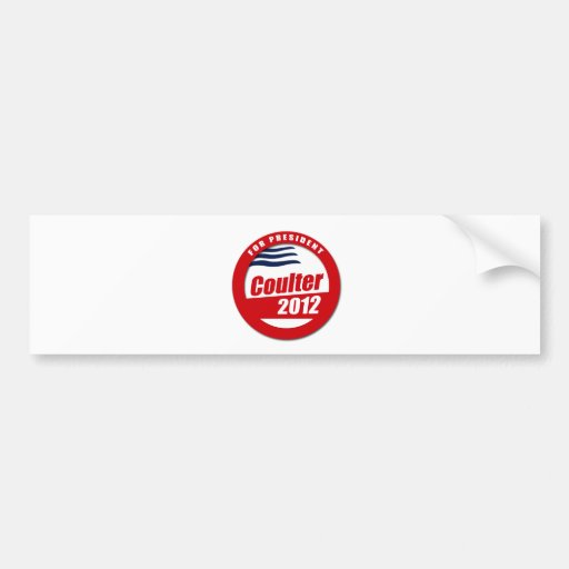 Coulter 2012 button bumper stickers