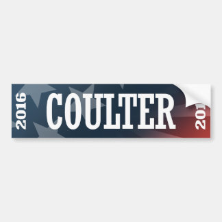 COULTER 2016 BUMPER STICKERS