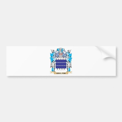 Coulter Coat of Arms - Family Crest Bumper Stickers