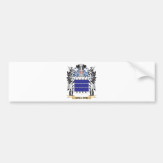 Coulter Coat of Arms - Family Crest Bumper Sticker